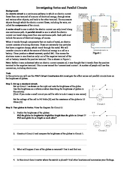 Investigating Series & Parallel circuits