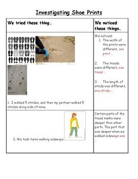 Investigating Shoe Prints