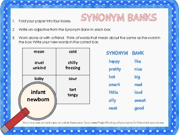 Investigating Synonyms