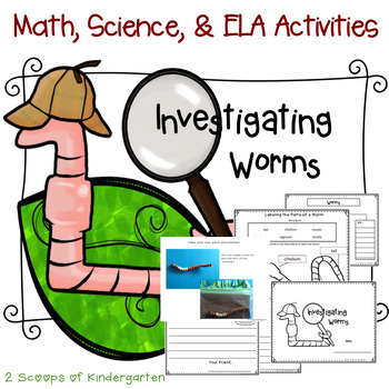 Investigating Worms Science, Math, Language Arts & Craftivity Lessons