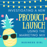 Investigating a New Product Launch Using the Marketing Mix Project