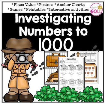 Investigating Numbers to 1000- Place Value Pack