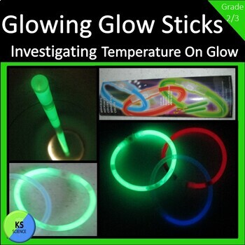 Investigating the Brightness of Glow Sticks:  2nd and 3rd Grade Experiment