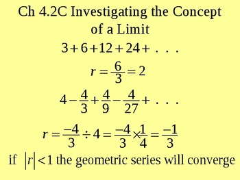 Investigating the Concept of a Limit