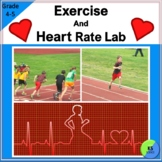 Heart Rate And Exercise Experiment:  A Lab For 4th/5th Grade