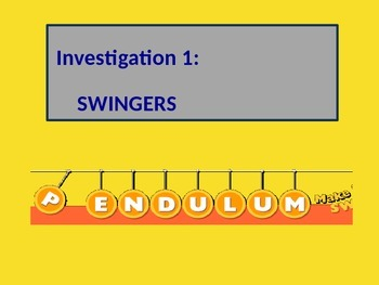 Investigation 1: Swingers from Foss Variable's Unit