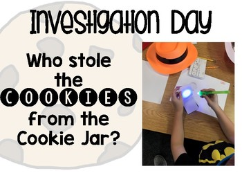 Investigation Day: Who Stole the Cookies?