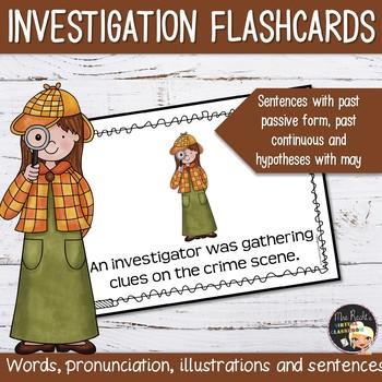 Murder Mystery Flashcards