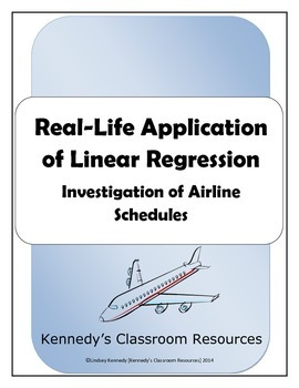 Investigation of Airline Schedules: Real-Life Application