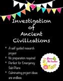Investigation of Ancient Civilizations
