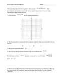 Investigation of Point-Slope Form