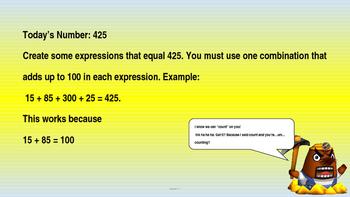 Investigations Math Grade 4 Unit 1 Ten Minute Maths and Qu
