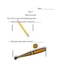 Investigations (TERC) End of Unit 9 Second Grade Math Assessment