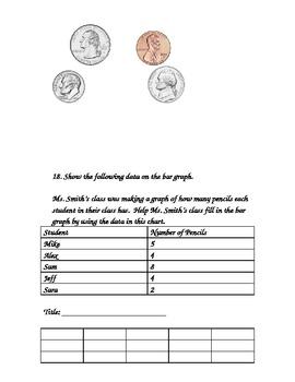 Investigations (TERC) Midyear (December) Second Grade Math Assessment Units 1-3