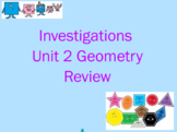 Investigations Unit 2 Geometry Review