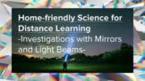 Investigations with mirrors and light beams-distance learning/hybrid learning