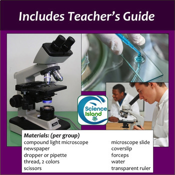 Microscope Lab: Using a Compound Light Microscope