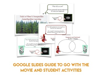 Investigative Learning: Teaching Point of View with Hoodwinked {the movie}