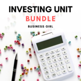 Investing Unit Bundle (Stocks, Bonds, Mutual Funds, and Speculative Investments)