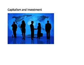 Investment, Capitalism, and Adam Smith (Reading & Activity)