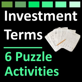 Investment Terms and Stock Market Puzzle Activities