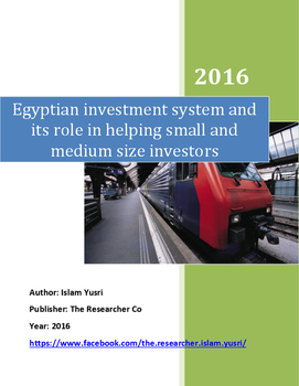 Investment system and its role in helping small and medium