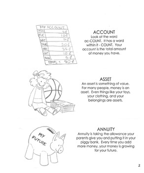 Investments Coloring Book