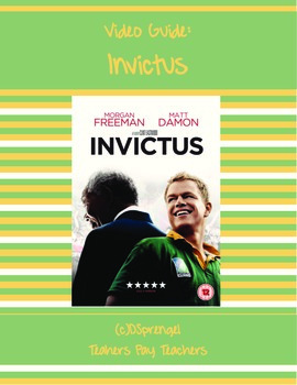 Invictus (2009) Movie Video Guide South Africa Apartheid N