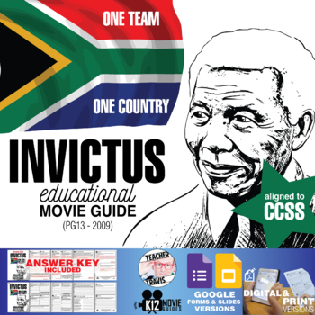 Invictus Movie Guide | Questions | Worksheet (PG13 - 2009)