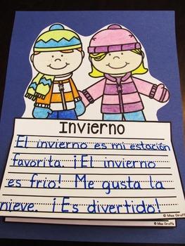 Invierno NO PREP Writing Craft