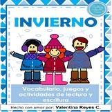 Invierno - Winter Spanish Activity Book