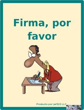 Invierno (Winter in Spanish) Firma por favor