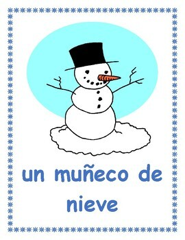 Invierno (Winter in Spanish) Posters
