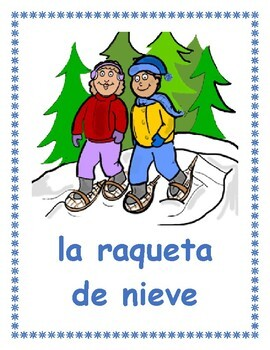 Invierno (Winter in Spanish) Posters