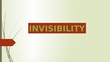 Invisibility in 3 Day Road