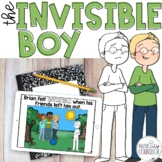 """""""The Invisible Boy"""" Companion: Lesson & Activities!"""