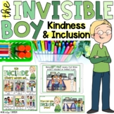 """""""The Invisible Boy"""" Companion Lesson & Activities on Including Others!"""