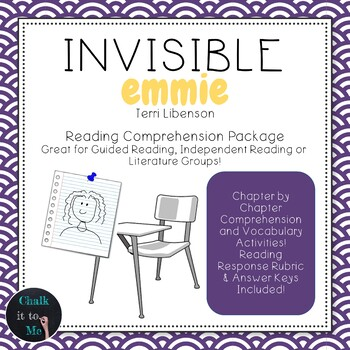 Invisible Emmie Novel Guide