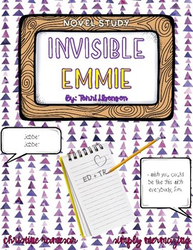 Invisible Emmie - Novel Study