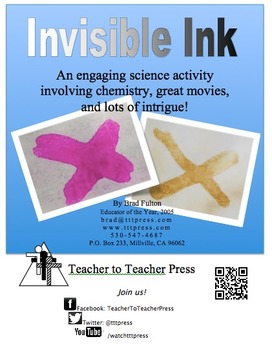 Invisible Ink: An Intriguing Science Exploration