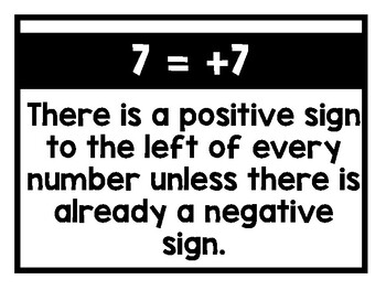 Invisible Math Posters - Black & White