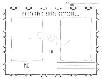 Invisible String Worksheet