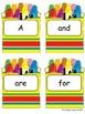 Invisible Words - Crayon Resist Word Fun