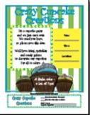 "Invitation for Parent Involvement Event ""Cupcake"""