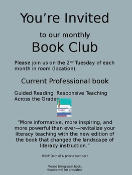 Invitation to Book Club