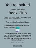 Invitation to Book Club