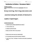 Invitation to Notice / Grammar Quiz