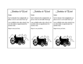 Invitation to Work Tickets (Farm Tractor Theme)