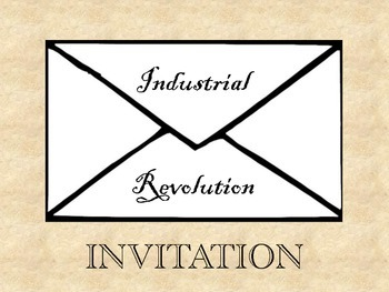 Invitation To The Industrial Revolution By Oh The Humanities Tpt