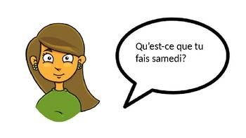 Invitations Vocabulary Practice (Bien Dit 1 Ch 5)